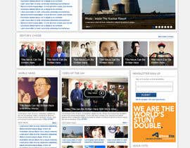 dragnoir tarafından Website Design for TodayChina.TV için no 30