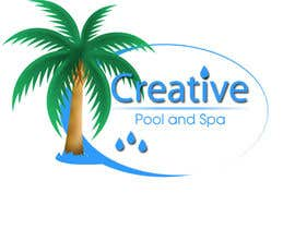 nº 26 pour Design a Modern Logo for Creative Pools and Spas par crisasus