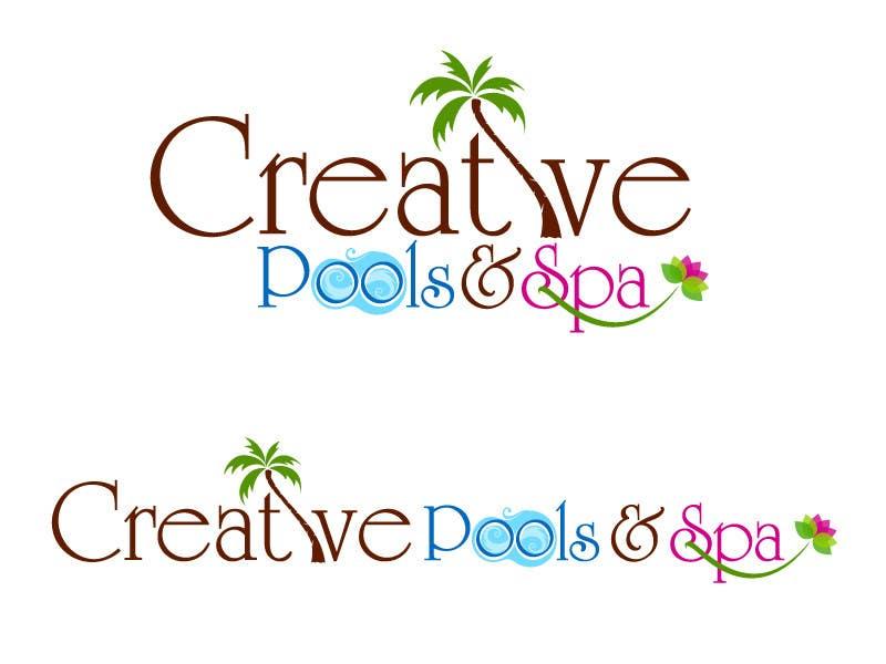 #78 for Design a Modern Logo for Creative Pools and Spas by suneshthakkar