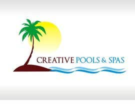 shobbypillai tarafından Design a Modern Logo for Creative Pools and Spas için no 185