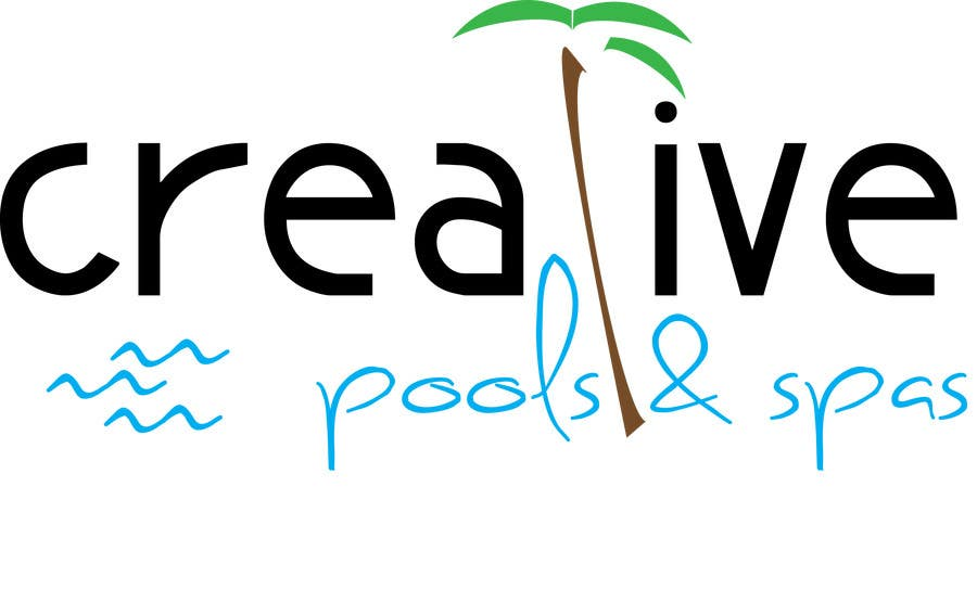 Contest Entry #156 for Design a Modern Logo for Creative Pools and Spas