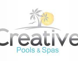 #48 cho Design a Modern Logo for Creative Pools and Spas bởi Simental02