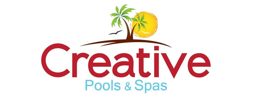 #186 for Design a Modern Logo for Creative Pools and Spas by Simental02