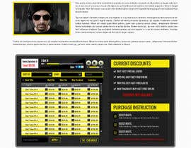 #3 for Design a Website Mockup for welloffbeats.com - repost af suryabeniwal