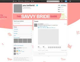 #6 untuk Design a Twitter background for a wedding eBook oleh nucle