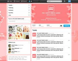 #3 untuk Design a Twitter background for a wedding eBook oleh DanaDouqa