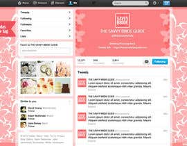 #4 untuk Design a Twitter background for a wedding eBook oleh DanaDouqa
