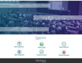 #17 for Design a web applicatoin (PSD) for interactive Q&A sessions -  askvote.io by hassan530045
