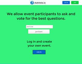 #1 for Design a web applicatoin (PSD) for interactive Q&A sessions -  askvote.io by ianrivers57