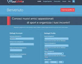 #7 untuk Landing Page Wordpress for FitandLove.it oleh Khempop