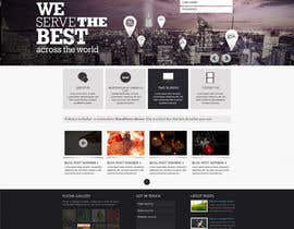 nº 18 pour Design a Website Mockup par orbit360designs