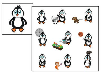 Image of                             Cute penguin icons needed  for E...