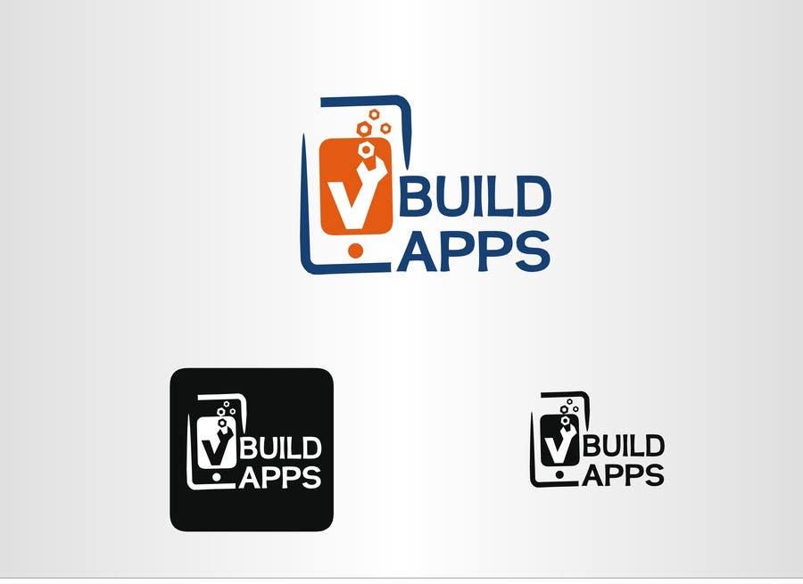 Kilpailutyö #57 kilpailussa Design a Logo for vbuildapps - vbuildapps.com