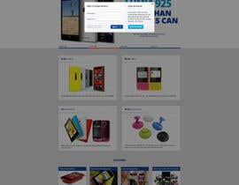 #13 for Design a Website Mockup for Nokia Online Shop - repost af hipnotyka
