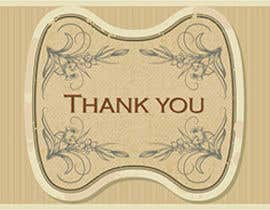 #55 untuk Design some Stationery for a Corporate Thank you card oleh graphics15