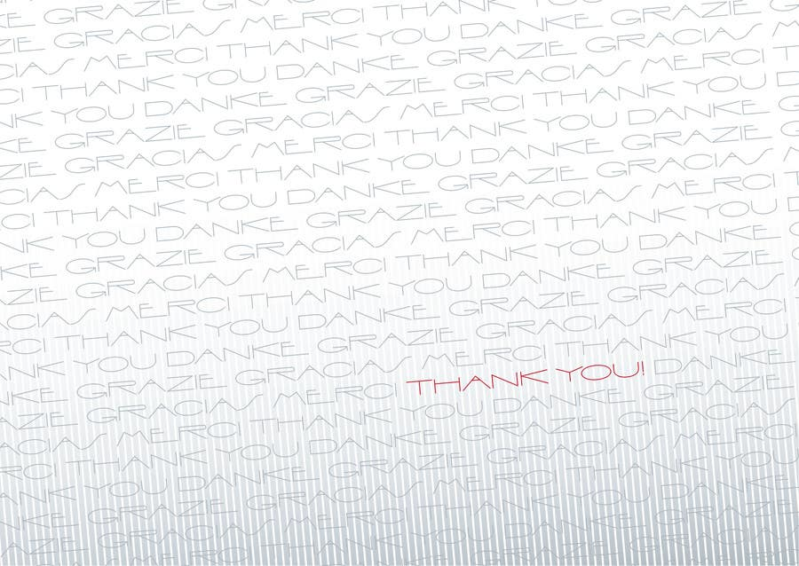 #29 for Design some Stationery for a Corporate Thank you card by gaborhavasi