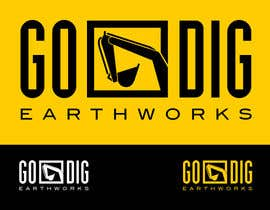 #76 para Logo & Stationery Design for GO DIG EARTHWORKS por hoch2wo