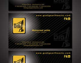 #120 para Logo & Stationery Design for GO DIG EARTHWORKS por mohyehia
