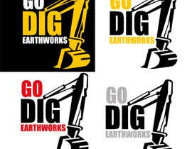 nº 34 pour Logo & Stationery Design for GO DIG EARTHWORKS par mohyehia