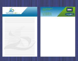 Vishapazn tarafından Design some Stationery for OutdoorLab Pty Ltd için no 11