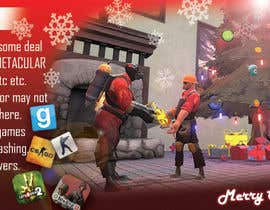 cristiandmt tarafından Design a Christmas Themed Banner for a Game Hosting Company için no 3