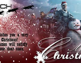 #27 for Design a Christmas Themed Banner for a Game Hosting Company by SoranaS