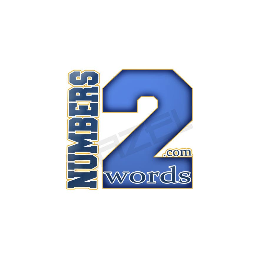#13 for Design a logo for www.numbers2words.com by HazelReeves