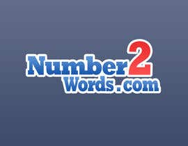 #12 untuk Design a logo for www.numbers2words.com oleh arispapapro
