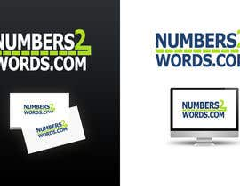 #144 untuk Design a logo for www.numbers2words.com oleh arispapapro