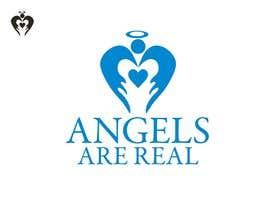 #65 para Angels Are Real Logo Design por Eviramon