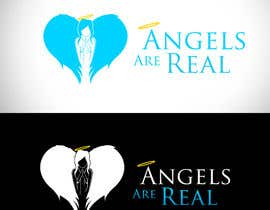 #120 for Angels Are Real Logo Design af bamz23