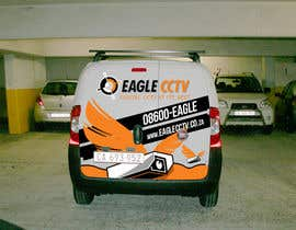 #30 para EagleCCTV Vehicle Branding Design por cowguin