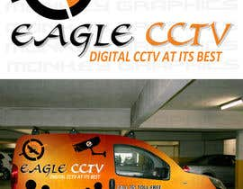 #22 untuk EagleCCTV Vehicle Branding Design oleh MonkeyGraphics1