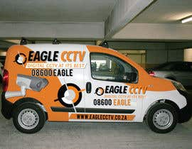 #16 para EagleCCTV Vehicle Branding Design por dannnnny85