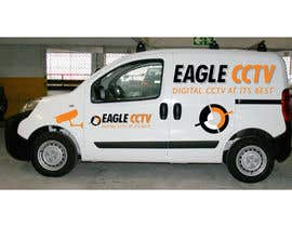 #5 para EagleCCTV Vehicle Branding Design por rogerweikers