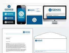 #84 para Develop a Corporate Identity for Genxs por jethtorres