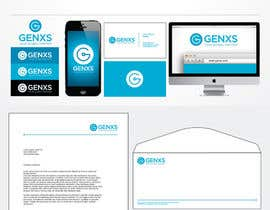 #85 para Develop a Corporate Identity for Genxs por jethtorres
