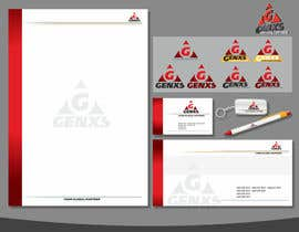 #92 untuk Develop a Corporate Identity for Genxs oleh sdugin