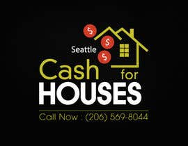 #90 for Design a Logo for Cash For Houses by zaideezidane