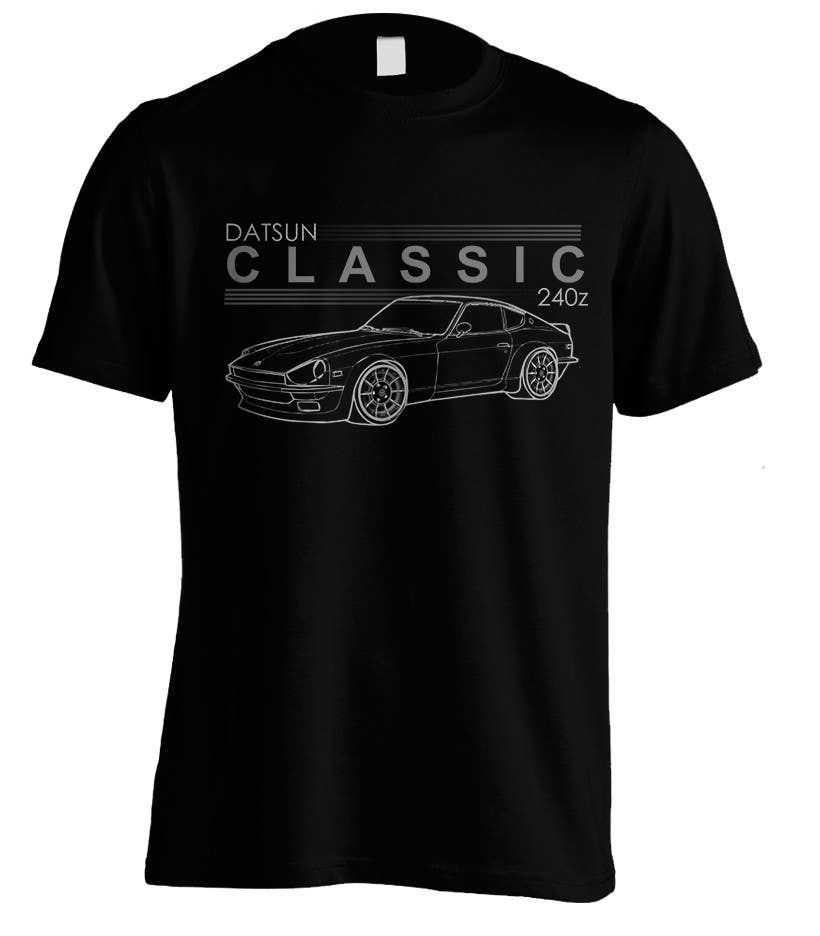 Contest Entry #                                        9                                      for                                         Datsun S30 T-Shirt