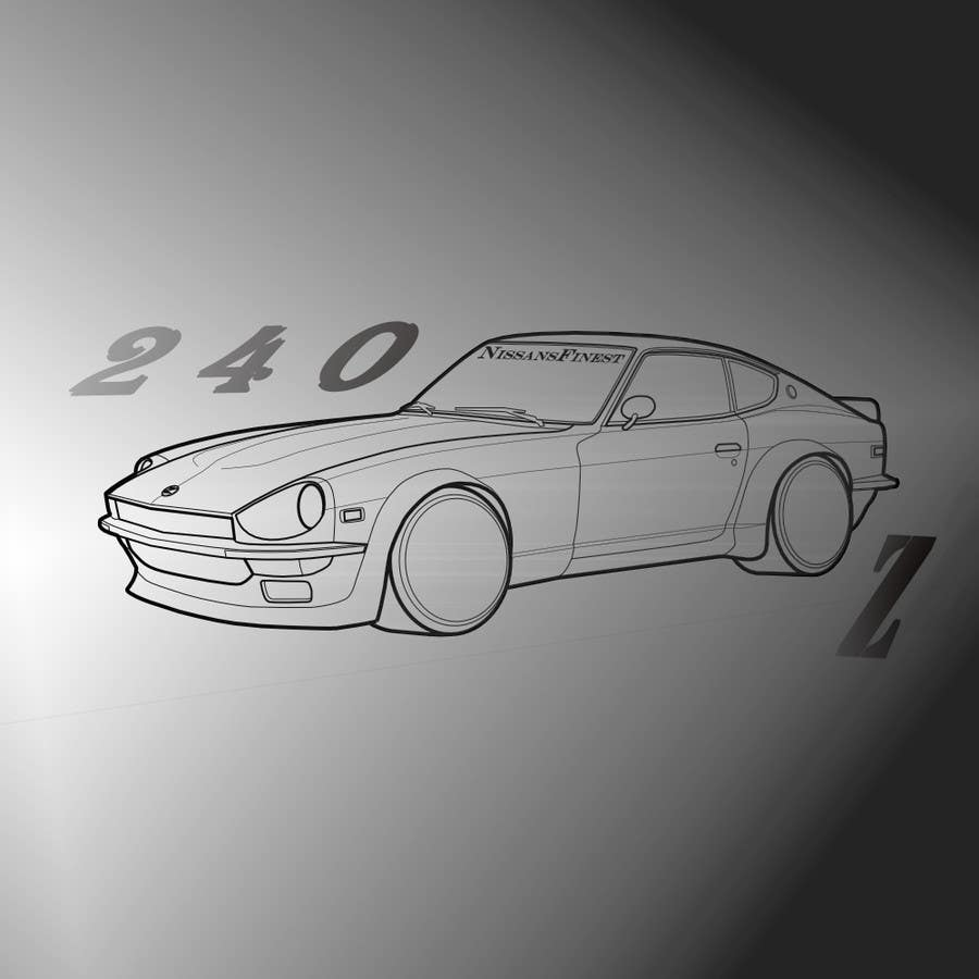 Contest Entry #                                        4                                      for                                         Datsun S30 T-Shirt