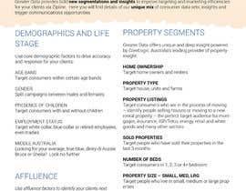 #1 cho Design a 4-page A4 Sales Brochure - InDesign bởi drugslobodan