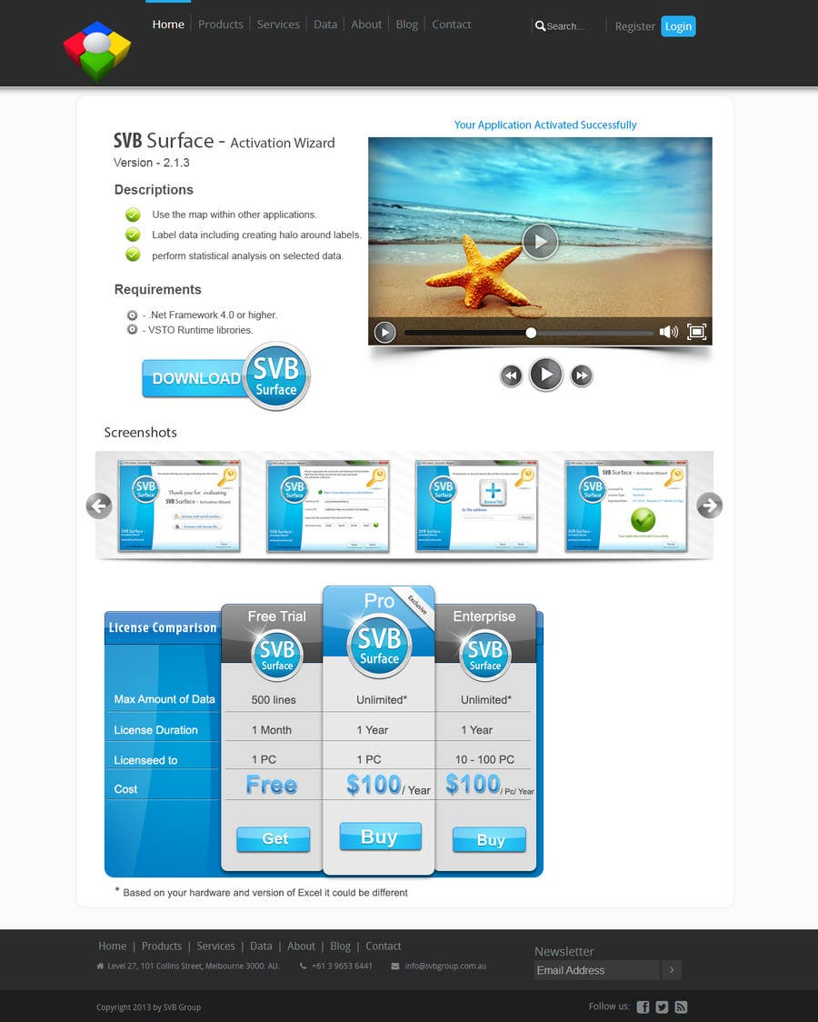 #5 for Software Pricing and Feature Presentation Page with Graphics by dreamstudios0