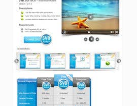 nº 6 pour Software Pricing and Feature Presentation Page with Graphics par dreamstudios0