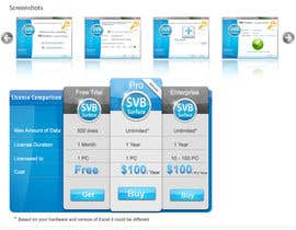 #9 for Software Pricing and Feature Presentation Page with Graphics af dreamstudios0