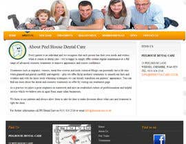nº 17 pour New Website for Dental Practice par scvoyager