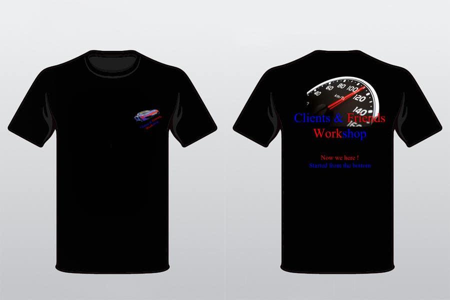 #49 for Design a T-Shirt for our Clients & Friends Workshop by sebimor