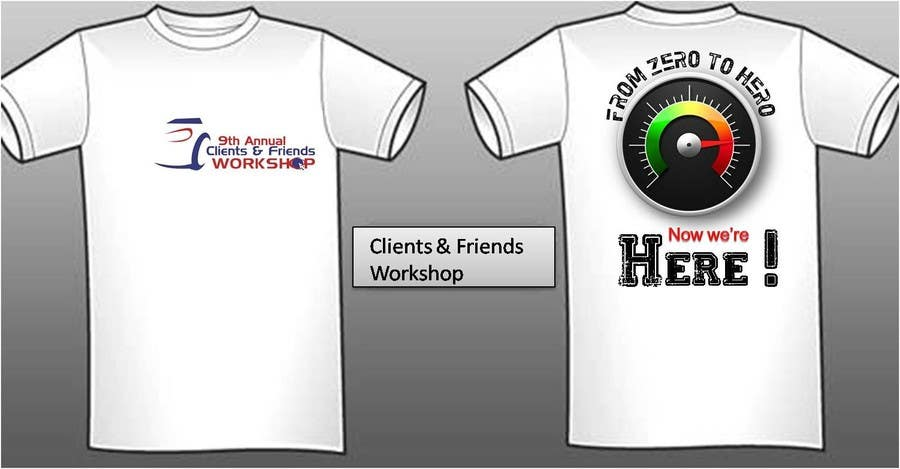 #47 for Design a T-Shirt for our Clients & Friends Workshop by jpmetrio