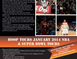 #18 para Design a Flyer for our january tour por Aleshander