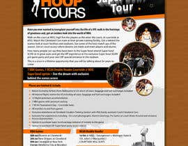 #33 para Design a Flyer for our january tour por amitroy777